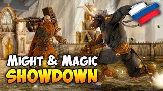 ОБЗОР СТРАТЕГИИ, КОТОРУЮ НИГДЕ НЕ КУПИШЬ! - Might & Magic Showdown.
