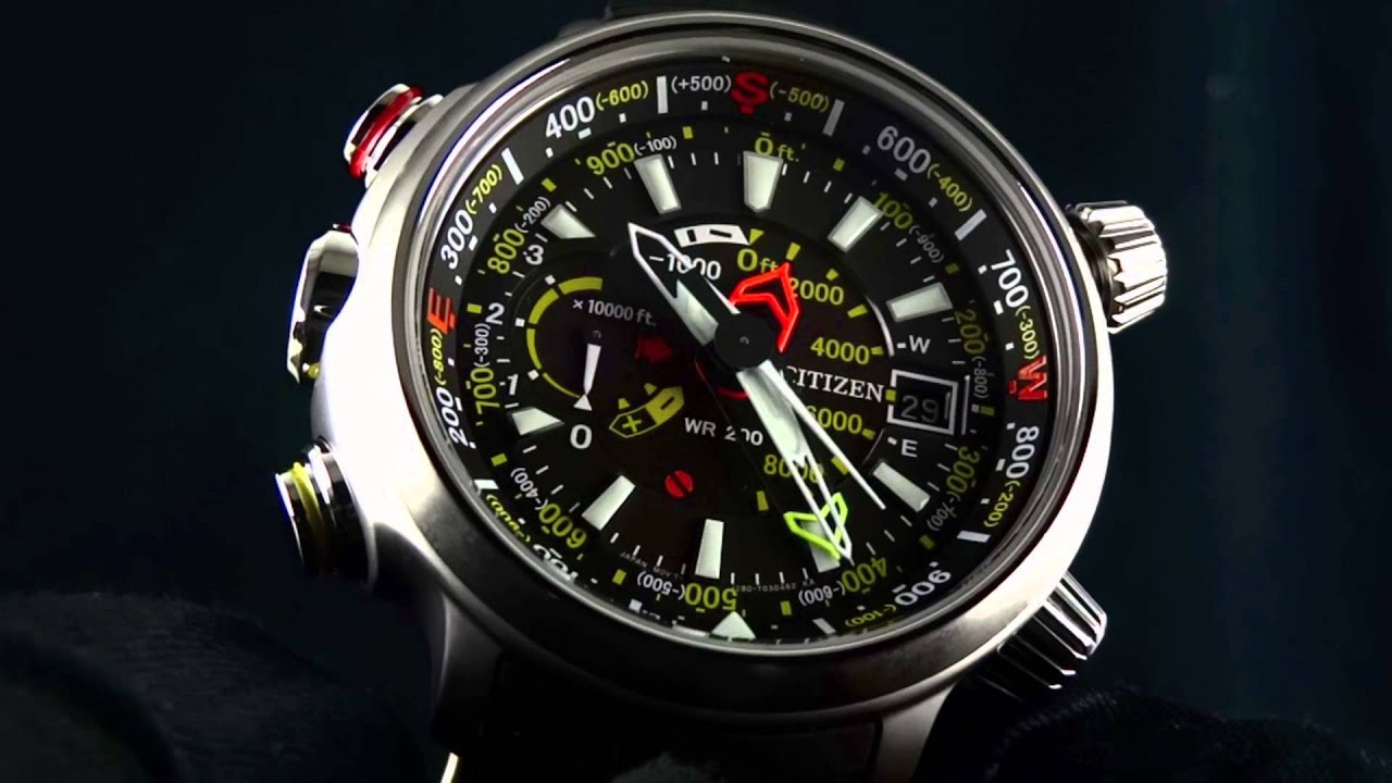 Citizen Eco Drive Altichron Bn5030 06e Youtube