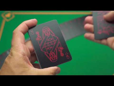 Pitch Black Playing Cards video