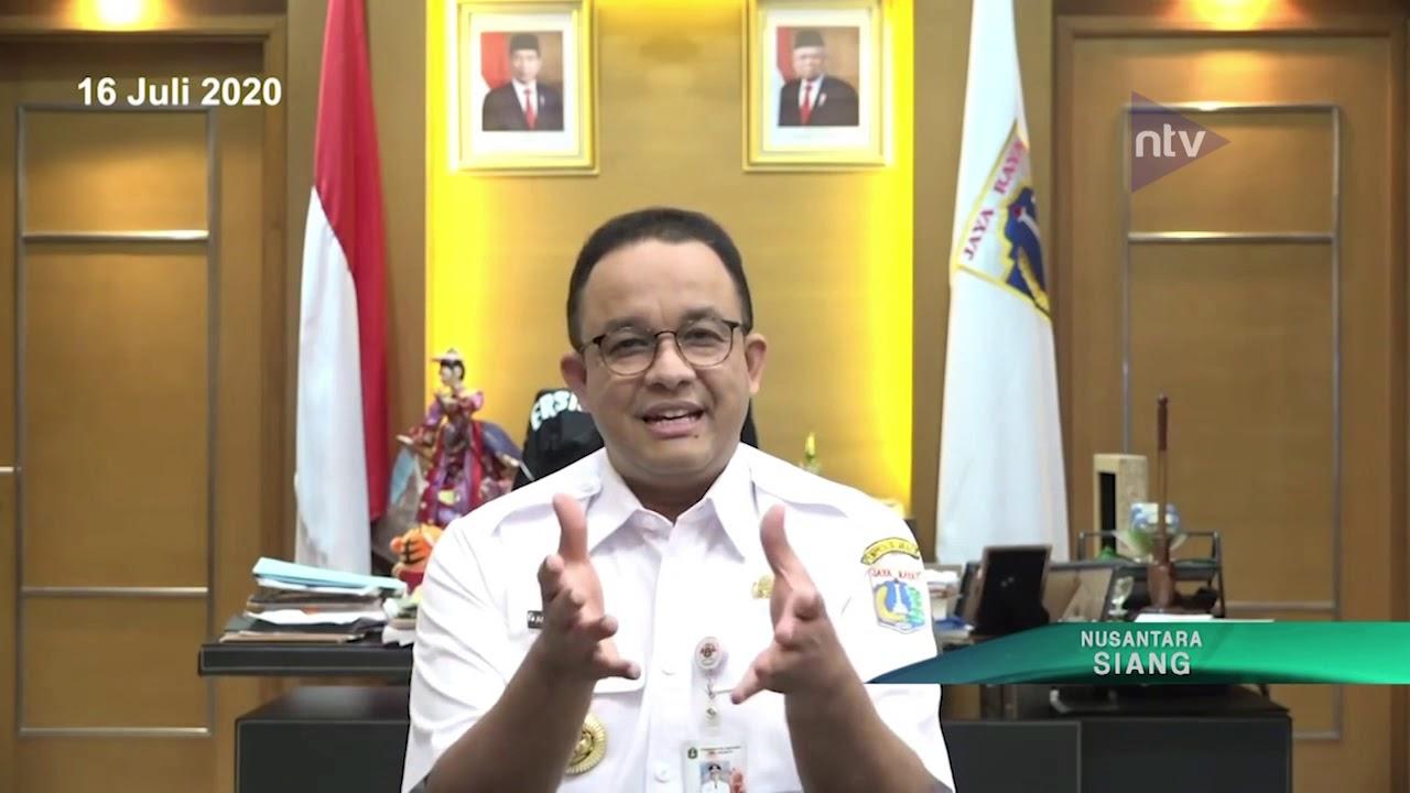 Pemprov DKI Perpanjang PSBB Transisi Fase 1 HIngga 30 Juli