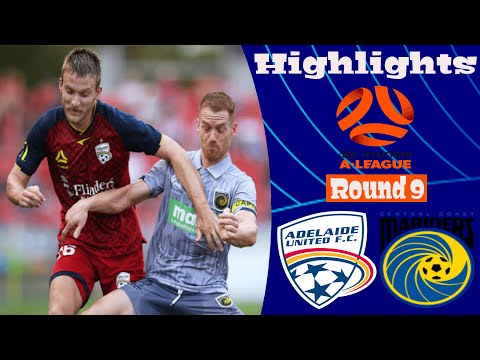 Adelaide United Central Coast Goals And Highlights