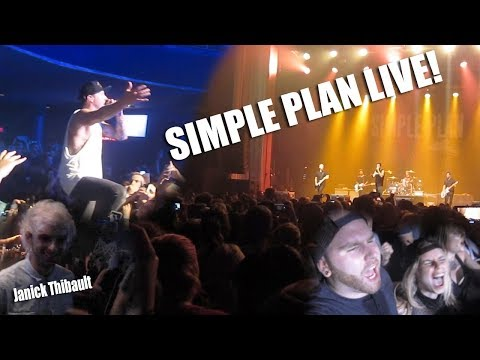 SIMPLE PLAN À MONTRÉAL! Feat. Janick Thibault encore! (Day 183)