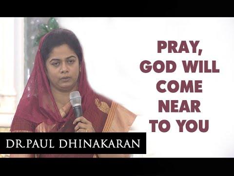 God Will Come Near To You (Tamil) | Sis. Evangeline Paul Dhinakaran