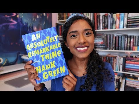 AN ABSOLUTELY REMARKABLE THING by Hank Green | booktalk