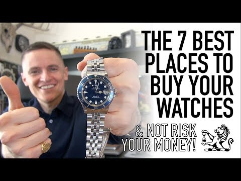 The 7 Best Watch Sellers You Need To Know  Brand New, PreOwned & Vintage  Entry Level To Luxury