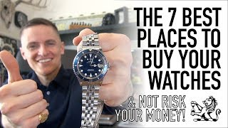 The 7 Best Watch Sellers You Need To Know - Brand New, Pre-Owned & Vintage - Entry Level To Luxury