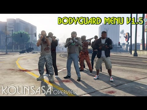 Bodyguard Menu v1.5