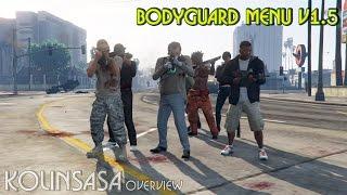 GTA 5 Bodyguard Menu V1 5 Вызов телохранителей