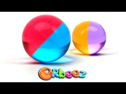 How to make TWO COLORED ORBEEZ!!! | Official Orbeez