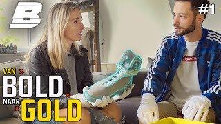 VALERIO SHOWT EEN SNEAKER VAN €7000,- | VAN BOLD NAAR GOLD
