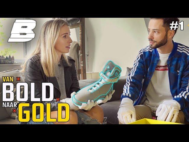VALERIO SHOWT EEN SNEAKER VAN €7000,- | VAN BOLD NAAR GOLD - Concentrate BOLD