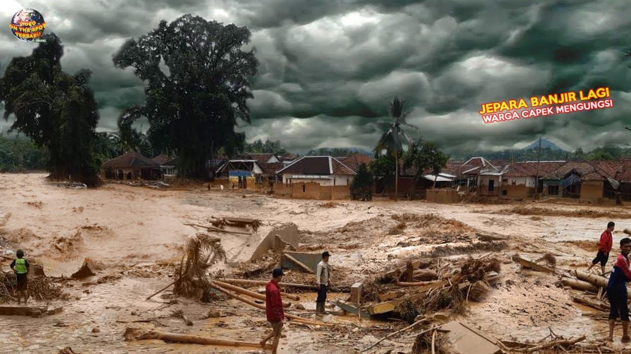 Jepara Diterjang Banjir Lagi! Ratusan Rumah Terendam // Kejadian Alam Terbaru 2021