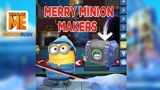 Minion Rush, Minion Games, Snowboarder - Merry Minion Makers End Stage 1 Android/iOS Gameplay