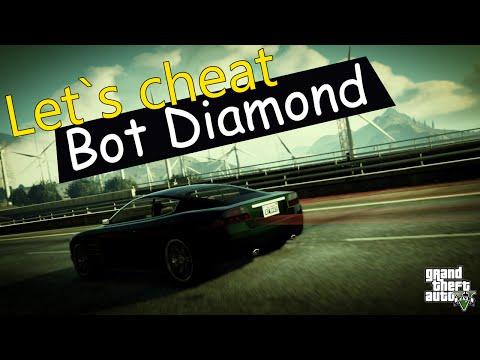 Let`s cheat Diamond-RP (GTA SAMP) #139 - 2 БОТА ШАХТЕРА