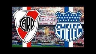 River Plate 2 x 0 Emelec --- Copa Libertadores --- 26/04/2018