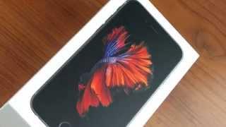 Распаковка iPhone 6s с Флексом