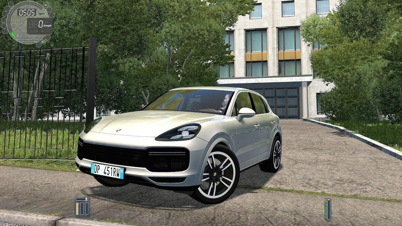 9120b0057ab 2019 Porsche Cayenne Turbo - City Car Driving [Logitech G27] - YouTube