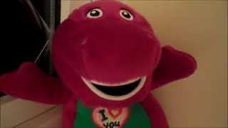 MY FAVORITE SOFT TOY BARNEY SINGS THE I LOVE YOU SONG