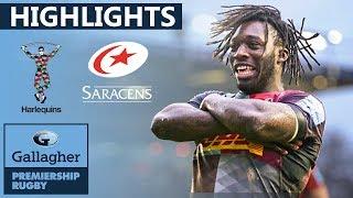 Harlequins v Saracens HIGHLIGHTS | Quins Run In 6 Tries Against Saracens | Gallagher Premiership