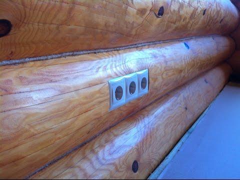 Электромонтаж в деревянном доме Ваш Электрик смотреть видео онлайн