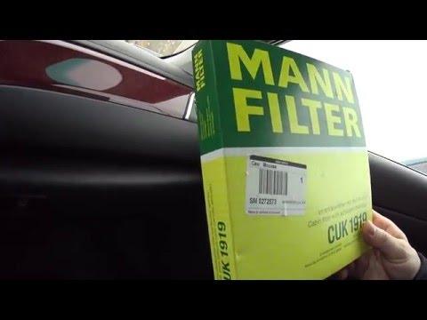 Замена салонного фильтра в Toyota Camry V 50  самостоятельно 2