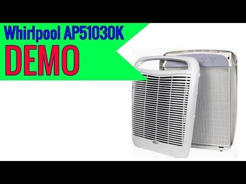 Whirlpool Whispure Air Purifier HEPA Air Cleaner AP51030K 2019 review