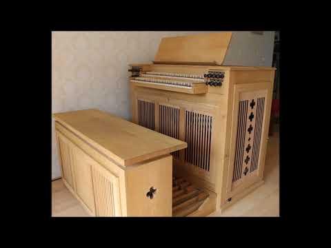 Witteveen Box Organ video Bach Pachelbel Christ lag in Todesbanden