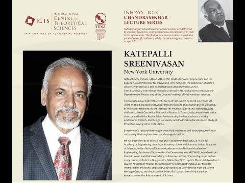 S. Chandrasekhar's fluid dynamics by Katepalli Raju Sreenivasan