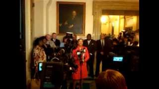 Councilwoman Cindy Bass speaks out against Cuts in Education Funding