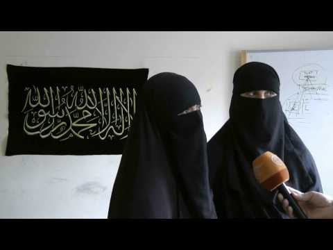BRITISH NIQAB BAN  DEBATE   INTERVIEW WITH MUSLIM WOMEN