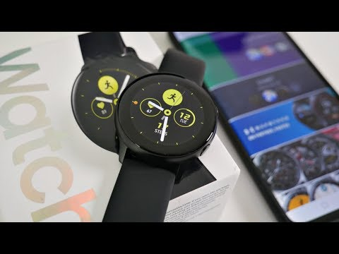 Samsung Galaxy Watch Active SAMOLED / NFC / 5ATM