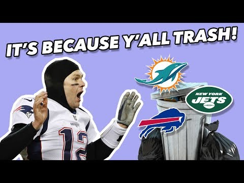 Blame The AFC EAST For The PATRIOT'S DYNASTY