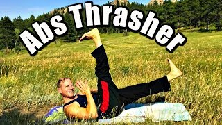 PILATES ABS THRASHER WORKOUT - 30 Day Pilates Challenge