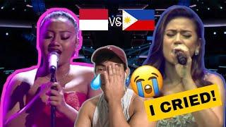 Filipino Reacts To MARIA SIMORANGKIR VS MORISSETTE AMON | MY HEART WILL GO ON [ REACTION VIDEO ]
