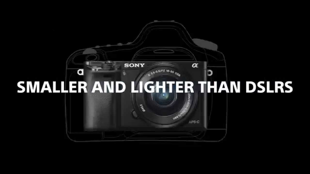 The Sony a6000: Small and Light