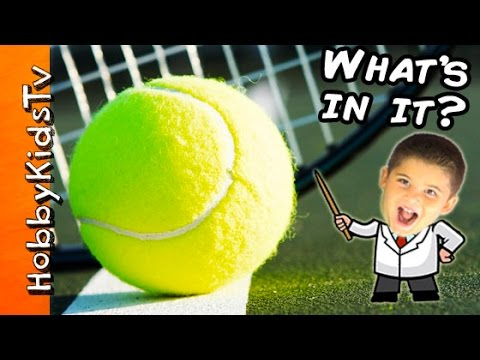 Science Lab: What's in a Tennis Ball?