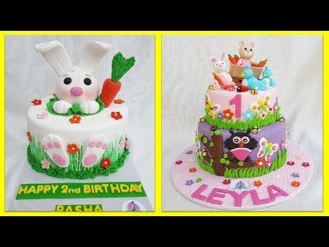 🔴 детские торты | украшение детских тортов | ТОРТЫ ДЛЯ ДЕТЕЙ | торт на день рождения |