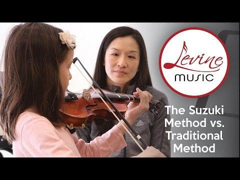The Suzuki Method Compared To Traditional Method