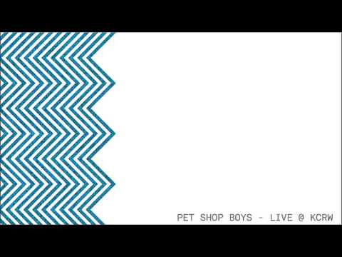 Pet Shop Boys - Live @ KCRW - Morning Becomes Eclectic