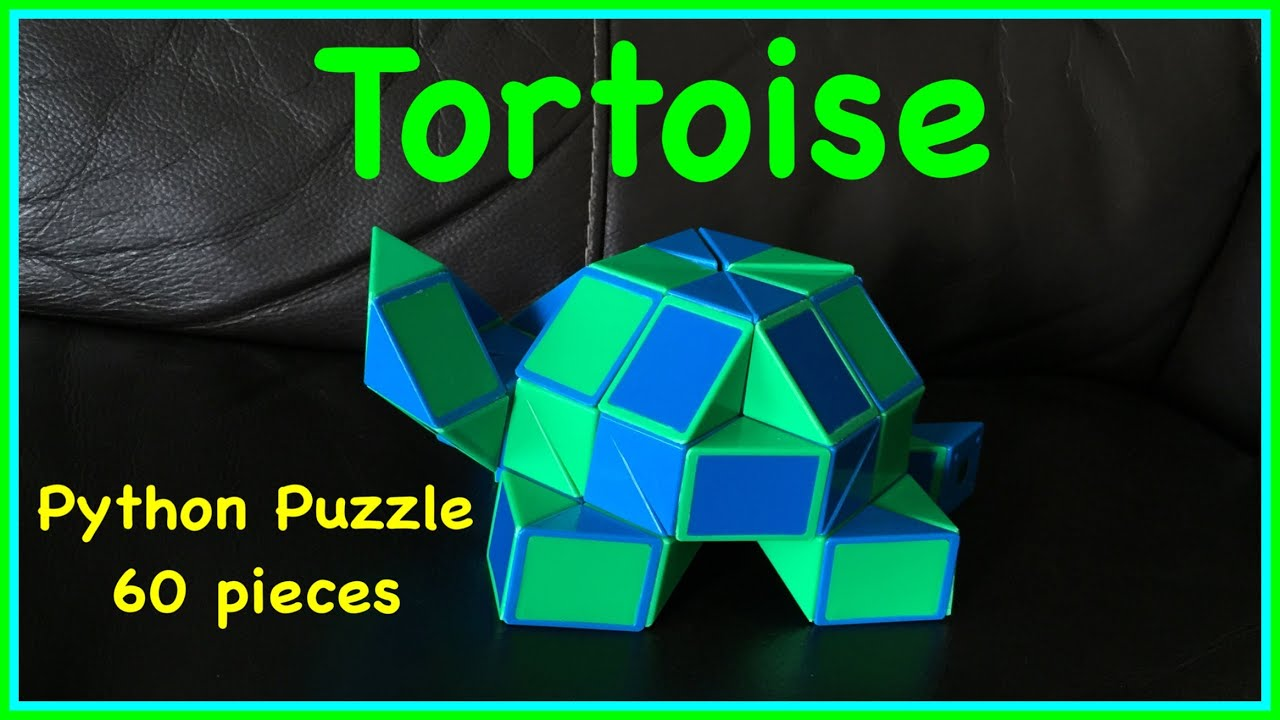 3d288a9ef40d7 Smiggle Python Puzzle or Magic Ruler Twisty Snake 60 Tutorial: How to Make  a Tortoise or Turtle
