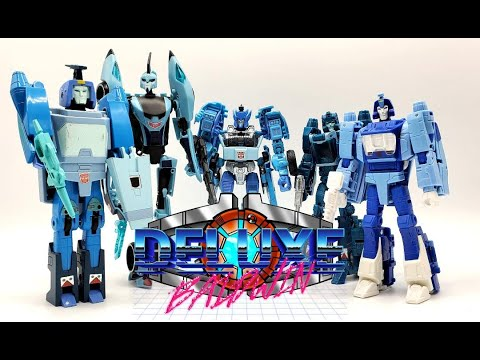 Transformers Evolution of Blur Action Figures! (1986-2021) by Deluxe