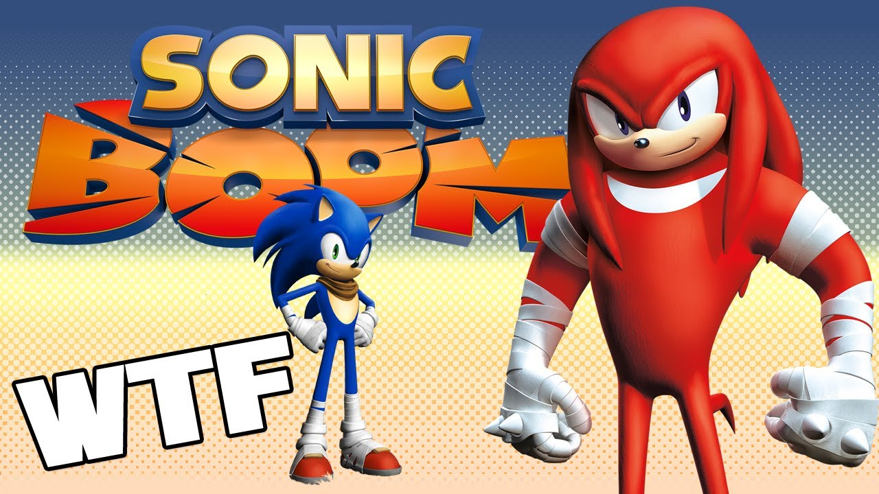 SONIC BOOM - Steroids Knuckles Announced For Nintendo Wii ...