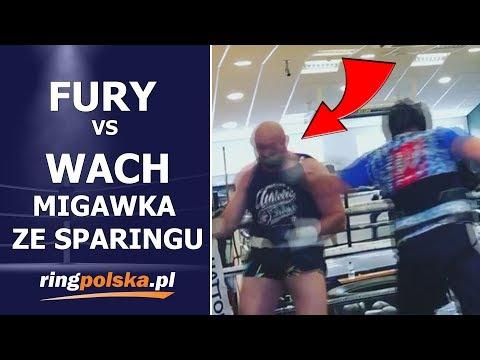 FURY vs WACH: MIGAWKA ZE SPARINGU - REFLEKS CHUDEGO BYKA