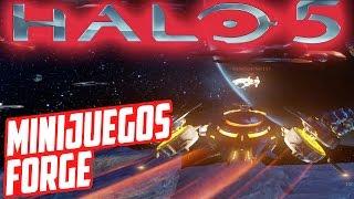 Halo 5: TOP #2 Mejores mapas Forge | Minijuegos | Space Battle