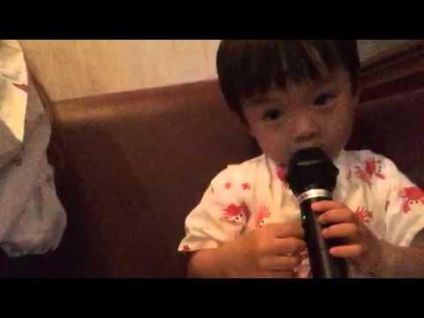 Baby taichi karaoke frozen