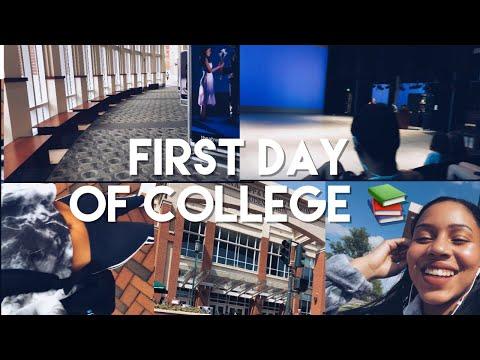 GRWM FIRST DAY OF COLLEGE & VLOG | UNC Charlotte