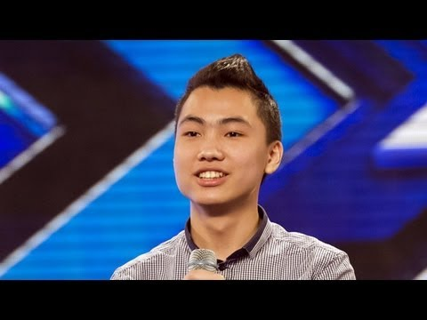 Jason Viet Tien's audition - Whitney Houston's I Have Nothing - The X Factor UK 2012