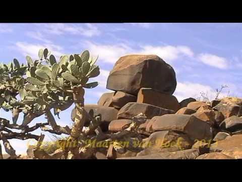 Petroglyph Sites near the Capital of the Orange Free State - Bloemfontein.