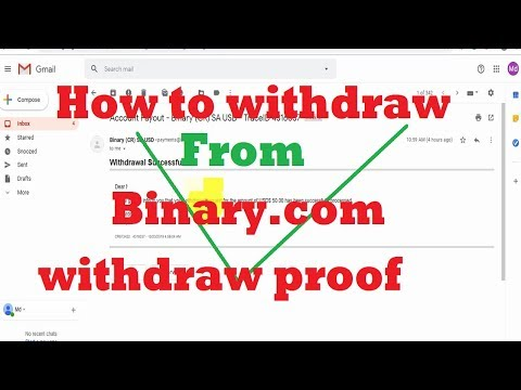 How to withdraw profit money from binary.com ! binary.com withdrawal proof