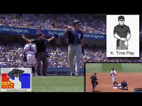 Video Teachable - One-Out Time Play in LA